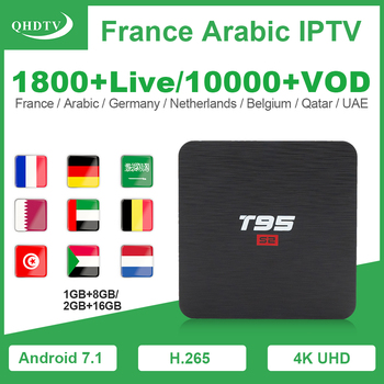 T95S2 Spain IPTV France Arabic Android IPTV QHDTV Subscription S905W 2.4G wifi H.265 4K Belgium Dutch IPTV France Arabic IP TV