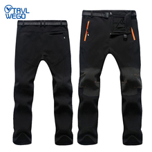 TRVLWEGO Winter Outdoor Windproof Snowboard Skiing Pants Men Snow Trousers Hiking Camping Waterproof Windproof Warm Breathable gsou snow children s skiing suits boys and teenagers outdoor windproof waterproof breathable warm skiing clothes