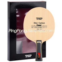 TSP Hino Carbon Power TSP Table Tennis Racket Blade (Li Jiawei Hinoki Carbon) TSP Hino Carbon Racket Ping Pong Bat Paddle