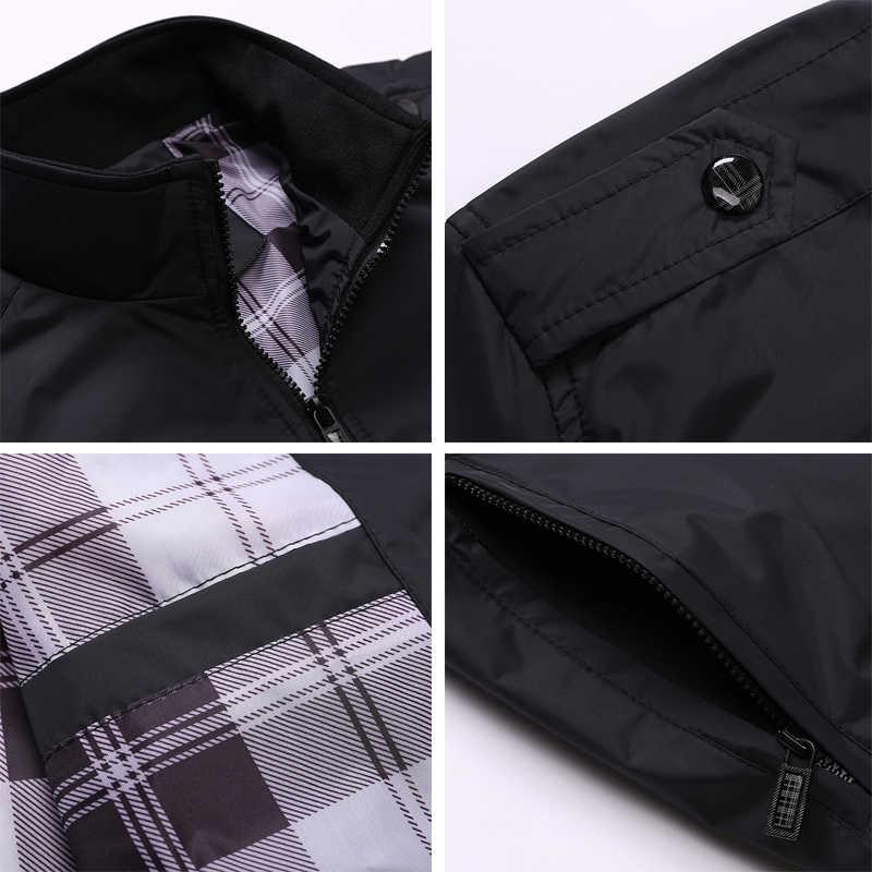 ISurvivor мужские куртки весна осень повседневные пальто одноцветная Мужская спортивная одежда воротник стойка тонкие куртки мужской бомбер куртки 4XL