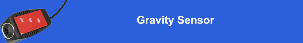 Gravity Sensor标题