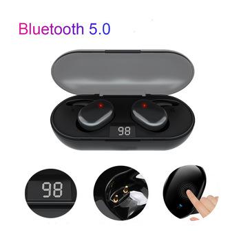 Y30 TWS Bluetooth 5 0 bezprzewodowe słuchawki Stereo słuchawki douszne redukcja szumów wodoodporne słuchawki z etui z funkcją ładowania tanie i dobre opinie ZUTA Zaczepiane na uchu Dynamiczny CN (pochodzenie) wireless 100dB Zwykłe słuchawki do telefonu komórkowego Słuchawki HiFi
