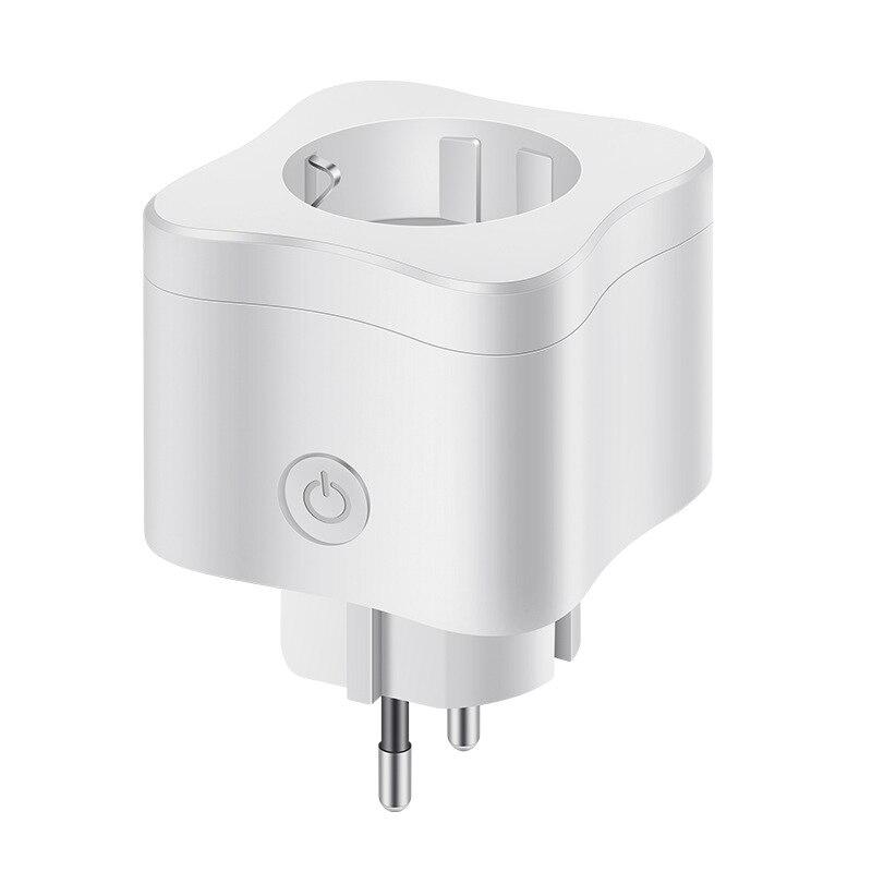 Smart Plug Mini Wifi Socket Eu Standard Support For Google Home Alexa Ifttt Voice Control Eu Plug Plug & Connectors     - title=