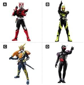 Image 2 - WSTXBD Original BANDAI Kamen rider HG 01 ZIO Riderman gashapon  Figure Brinquedos Toys Figurals Dolls