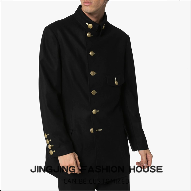 S-6XL!!New European and American simple men's casual jacket loose young men's spring jacket long sleeve coat lapel suit