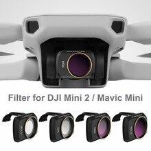 Новый фильтр объектива камеры DJI Mini 2 для DJI Mavic MINI 1/2 фильтр для дрона Set UV ND CPL 4/8/16/32 NDPL аксессуары