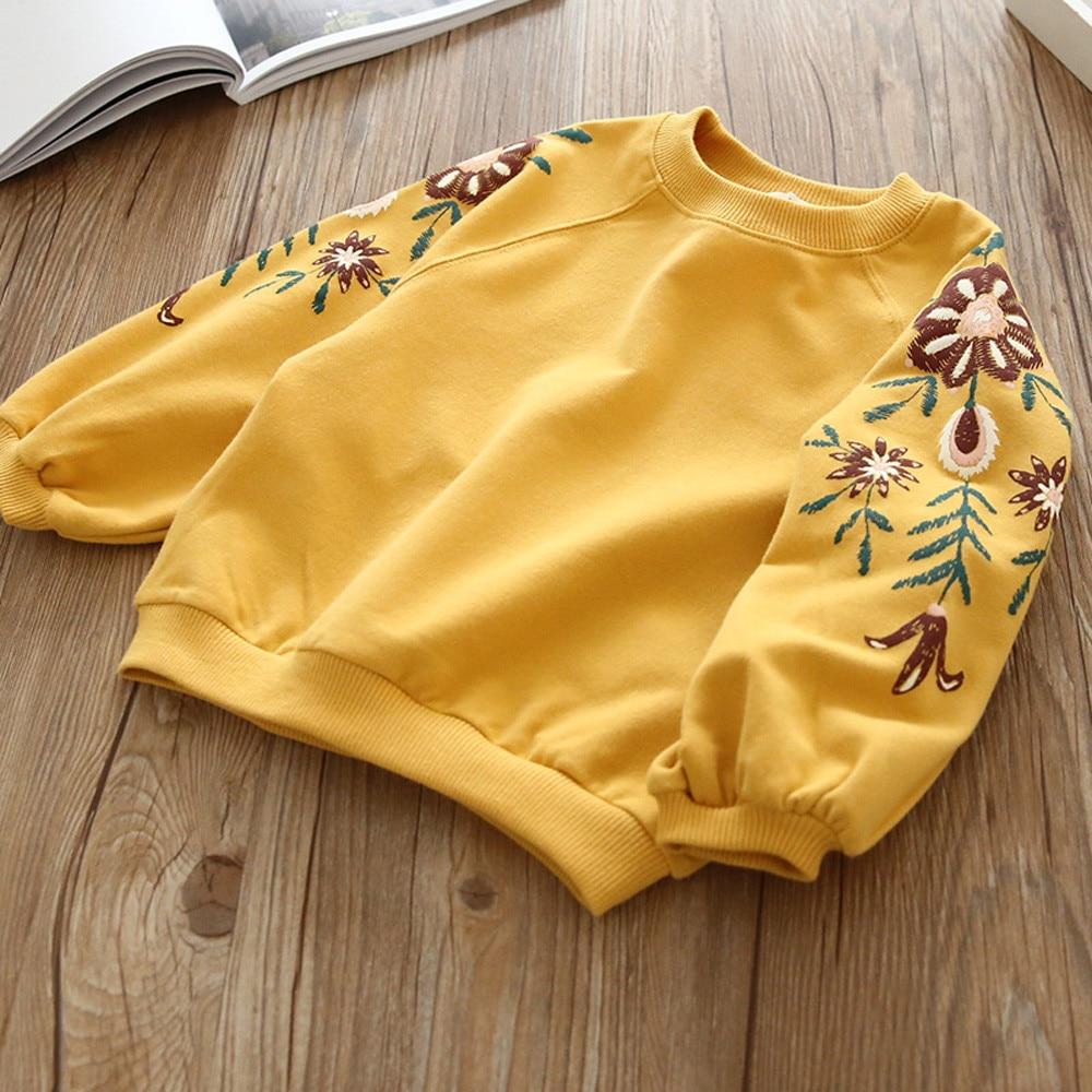 Sweatshirt Hoodie Pullover Toddler Baby-Girl Kids Princess Clothing Winter Children