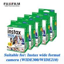 Fuji instax grande foto papel polaroid foto de 5 polegadas de largura formato wide300 dedicado