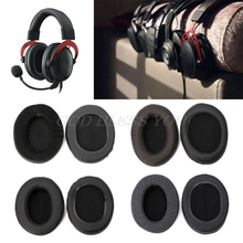 Replacement Earpads Cushion For Kingston HSCD KHX HSCP For Hyperx Cloud II Headphone Drop Shipping