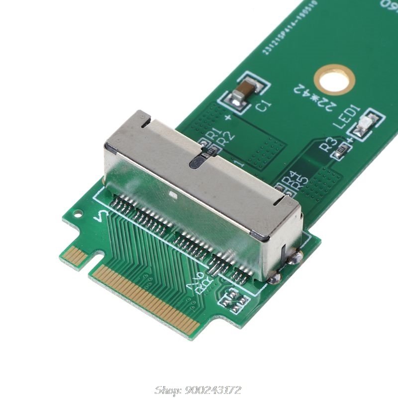 for macBook Air Pro 12+16 Pins SSD to M.2 Key M ( for NGFF) PCI-e Adapter Converter Card for PC Computer S30 20 Dropship 4