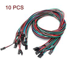10Pcs70cm 3Pin Set Kabel Female-Female Jumper Kawat UNTUK ARDUINO 3D Printer(China)