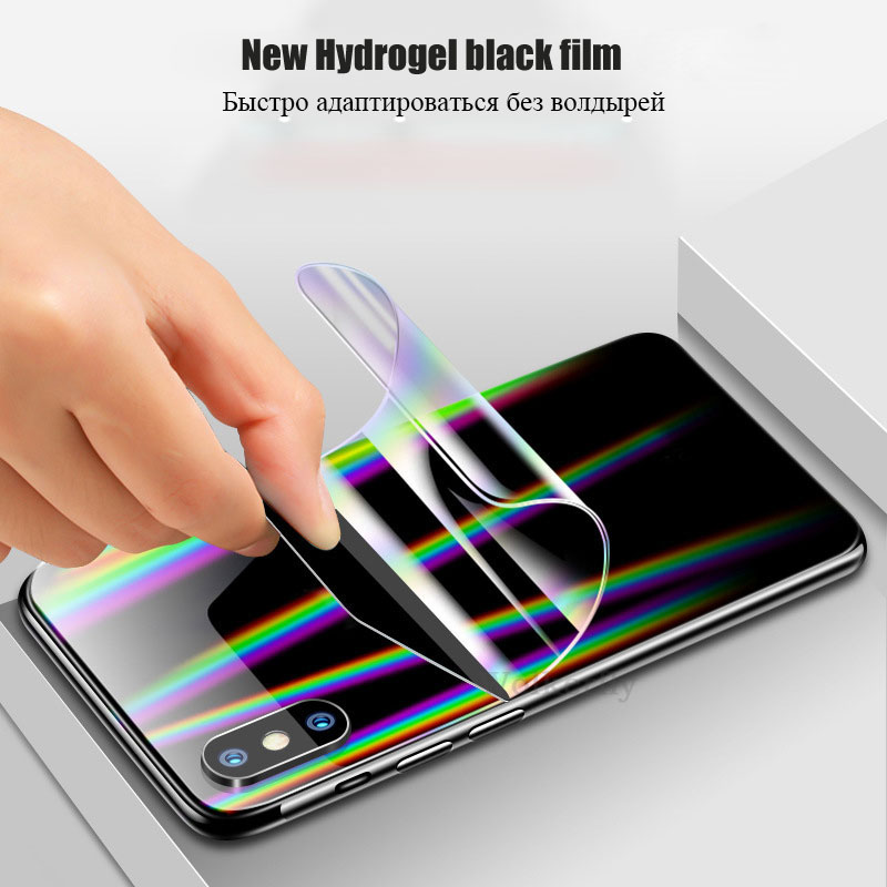 3D Screen Protector Film rear for xiaomi mi 9 SE a2 lite mix max 2 3 <font><b>Hydrogel</b></font> foil <font><b>Redmi</b></font> note 7 <font><b>8</b></font> Pro Full Cover TPU Nano Film image