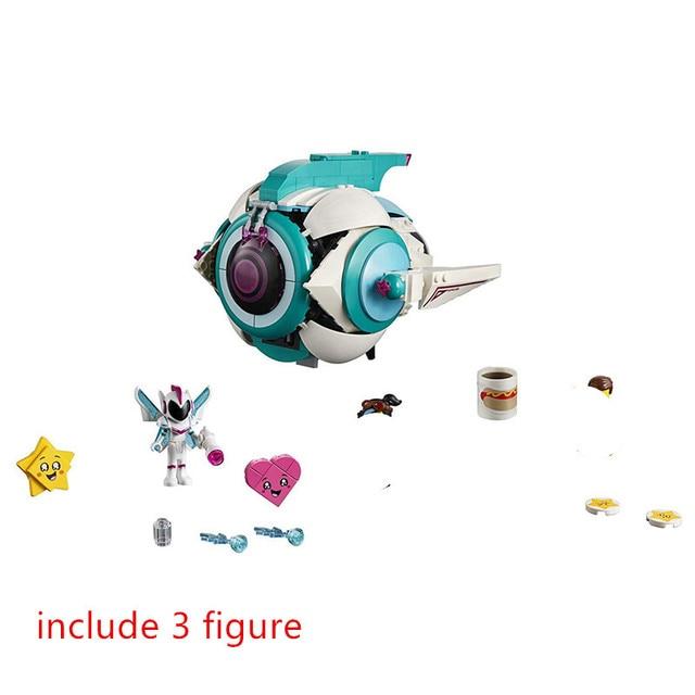 Film 2 tatlı Mayhem erkek Systar Starship yapı taşları seti tuğla klasik film modeli çocuk oyuncak çocuk hediye için