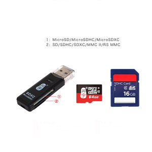 Image 5 - High Quality Mini USB 2.0 Card Reader for Micro SD Card TF Card Adapter Plug and Play Colourful Choose From for Tablet PC