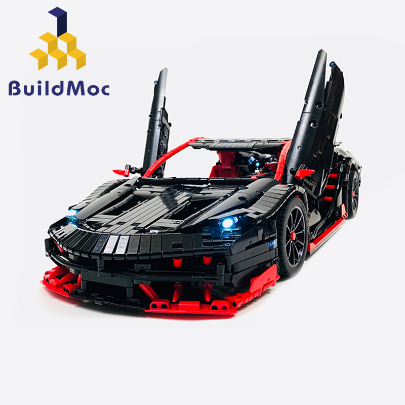 MOC-12560 Technic Series RC Car Roadster Power Function Car Building Blocks Bricks Kids Technic Toys For Children Kid Xmas Gifts