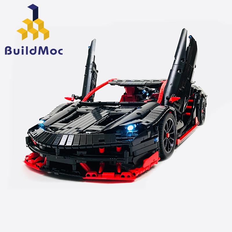 Build Rc Car >> Moc 12560 Technic Series Rc Car Roadster Power Function Car Building Blocks Bricks Kids Technic Toys For Children Kid Xmas Gifts