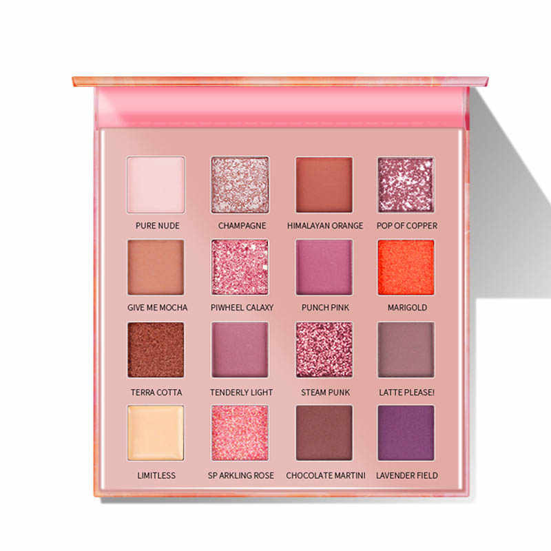 Cellacity Eyeshadow Pallet Glitter Matte Pigmen Eyeshadow Loose Powder Kualitas Tinggi Kualitas Eyeshadow Makeup