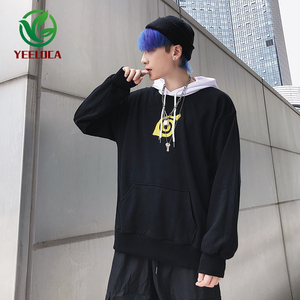 Image 3 - 2019 New Cartoon Anime Fire Shadow Couple Theme Hoodie Fashion Hip Hop Sports Men and Women Ins Loose Trend Versatile Top Naruto