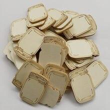 30 peças de madeira garrafa recortes ornamentos de madeira em branco inacabado discos para diy enfeites de natal