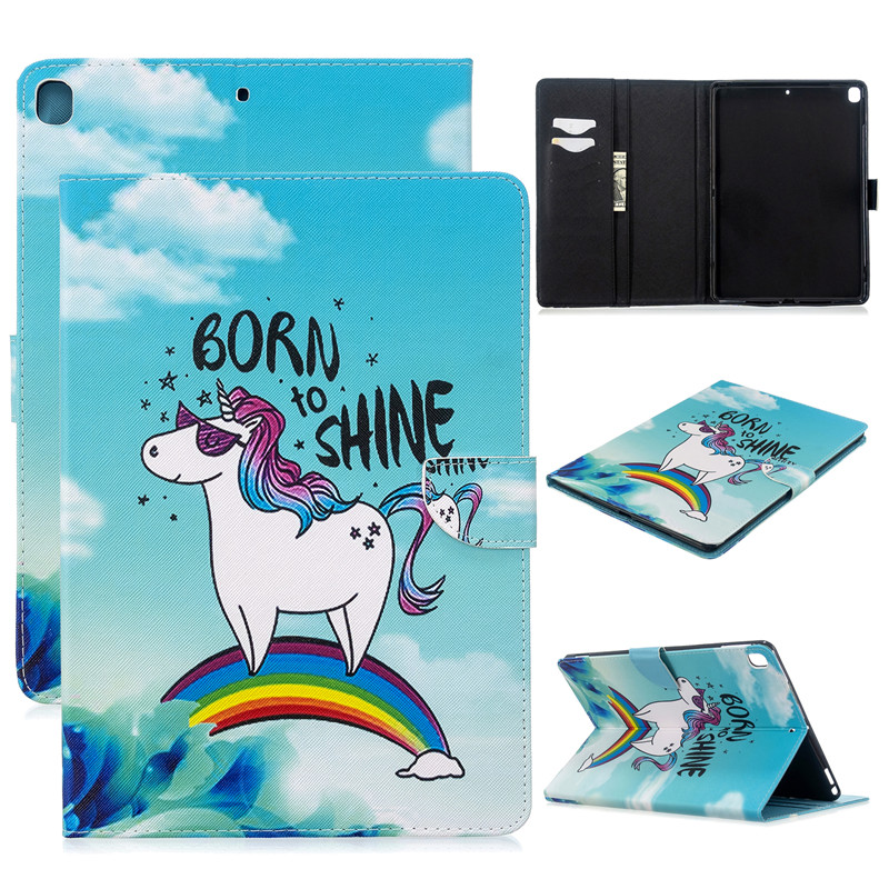 Cat Magnetic 2019 10 2017 For Cover 3 iPad Case Apple Air Pro 5 Tablet for Cute Unicorn