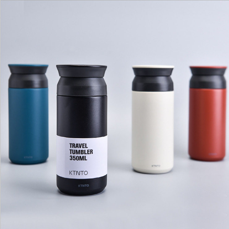 New office mugs men and women high-end business fashion straight cups portable stainless steel vacuum