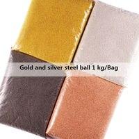 Wholesale 1.0/1.2/1.5mm 1kg/bag Rose Gold Silver Black Metal Mini Steel Ball Caviar Bead 3D Nail Art Decorations Charm Accessoir