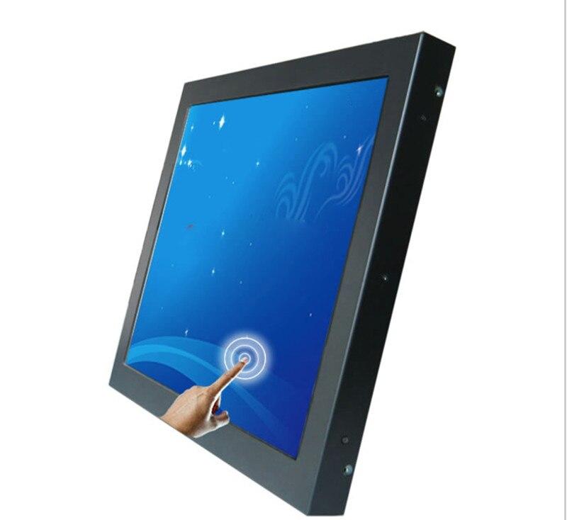 Верхний ЖК монитор 17 дюймов откидной автомобильный монитор потолочный ТВ монитор