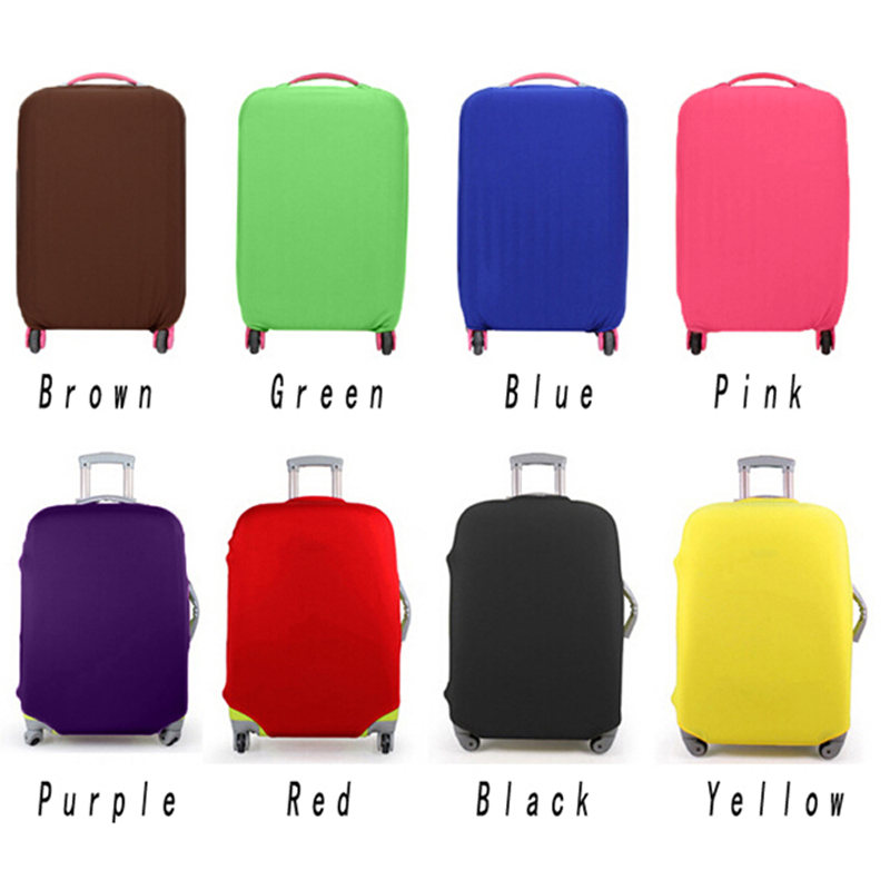 Luggage Covers Protector Travel Luggage Suitcase Protective Cover Stretch Dust Covers For Travel Accessories Luggage Supplies