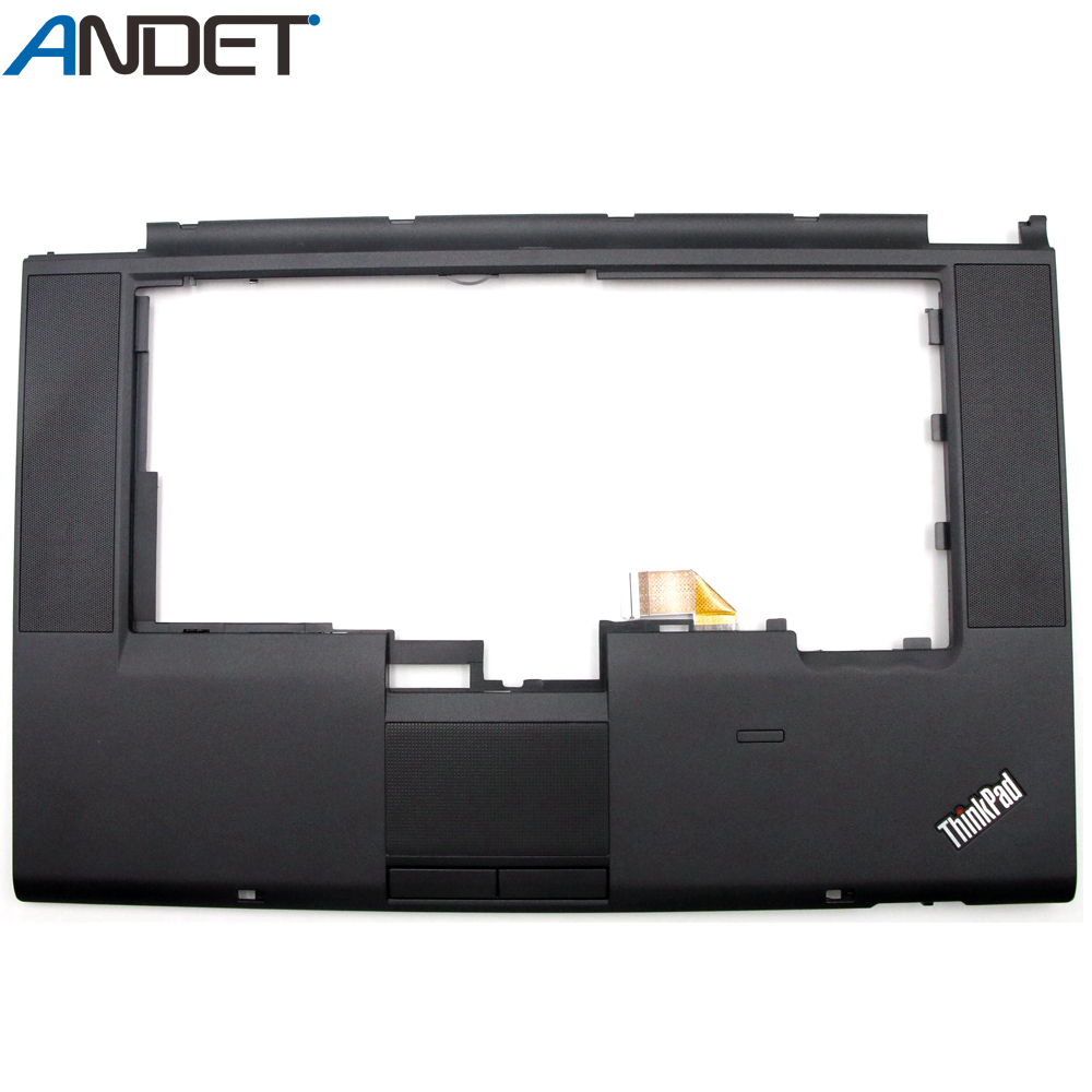 New For Lenovo ThinkPad T520 T520I W520 Palmrest Empty Cover Upper Case Keyboard Bezel 04W1365 04W1366 04X3735 image