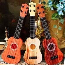 Children's Music Guitar Simulation Medium Ukulele Early Education ABS Plastic Kid Gift Toy For Beginner Musical Instrument