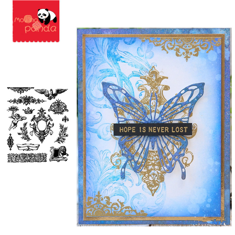 URBAN ELEMENTS Metal Cutting Dies And Stamps Stencils For Scrapbook Paper Craft Knife Mould Blade Punch Stencils Dies