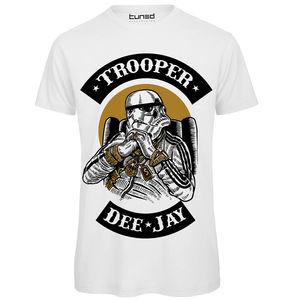 T-Shirt Divertente Maglietta Uomo Con Stampa Ironica Guerre Stellari Trooper Printed Men T Shirt Clothes Top Tee