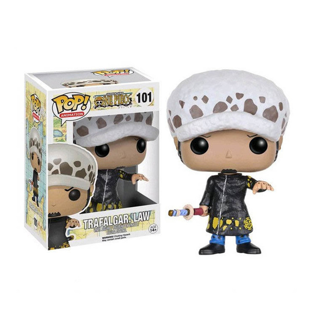 FUNKO POP Anime ONE PIECE Luffy Chopper ACE LAW FRANKY Action Figure Toys Decoration Models Collections for Kids Christmas Gifts 4