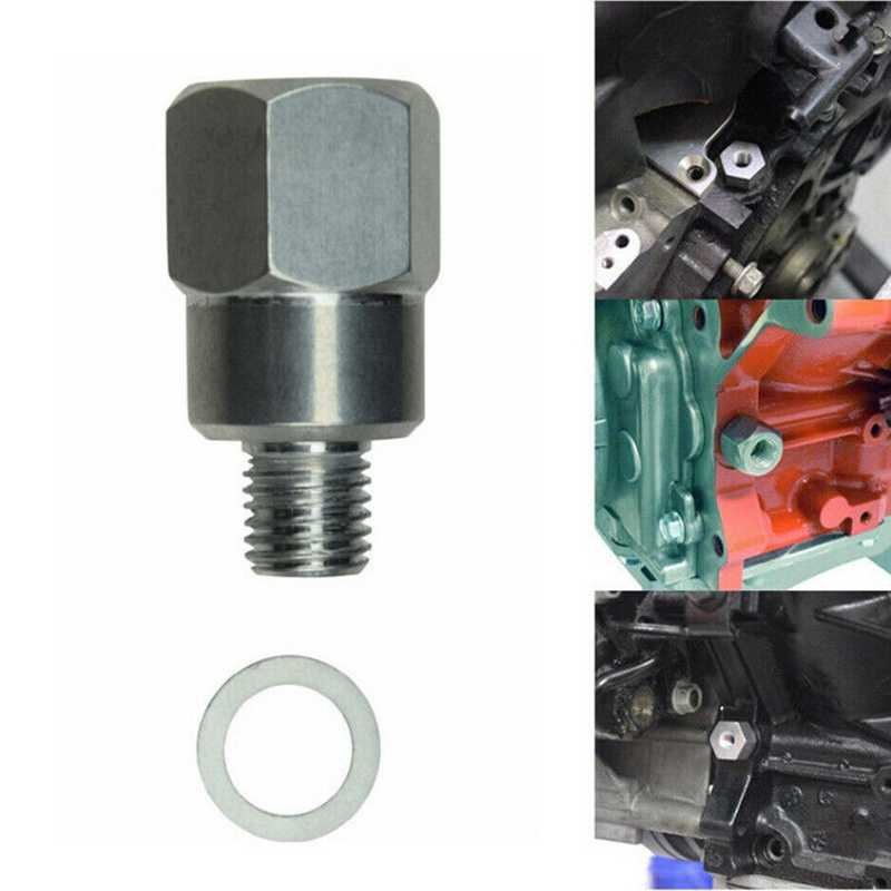Adapter to 3//8 NPT Coolant Temperature Sensor Engine Swap M12 1.5 Water Coolant Temperature Sensor Adapter