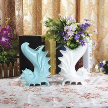 Mediterranean style ceramic vase creative home office restaurant