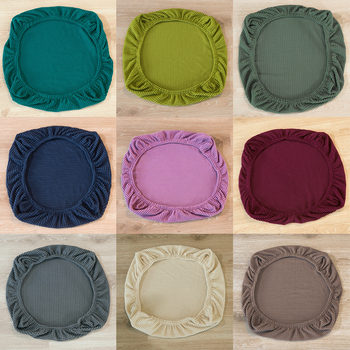 Universal Spandex Stretch Wedding Dining Room Chair Seat Cushion Covers for Wedding Banquet Seat Hotel Bar