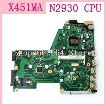X451MA motherboard With N2930 CPU Mainboard For ASUS X451M X451MA F451M Laptop motherboard 100%Tested Working Well free shipping