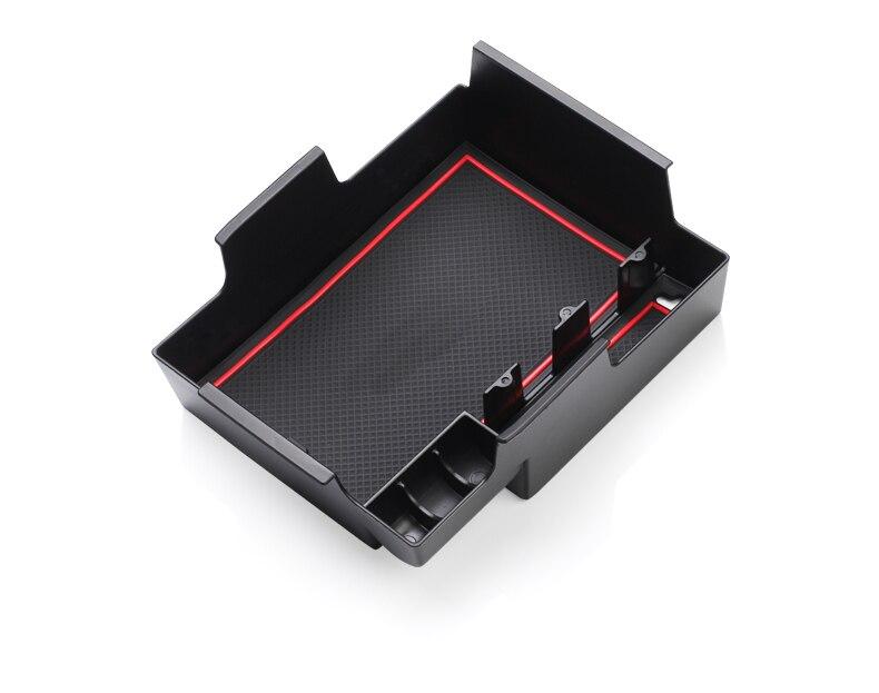 caixa de armazenamento do braço vermelho preto