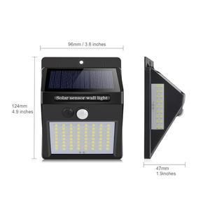 Image 2 - 야외 LED 태양 벽 램프 밤 빛 PIR 모션 센서 자동 ON/Off 방수 베란다 경로 거리 정원 보안 조명