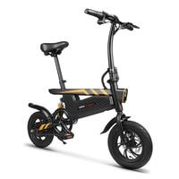 Electric Bike 12inch Fat Tire Aluminum Foldable Electric Bicycle Powerful Bike 250W Mountain/Snow/Beach ebike