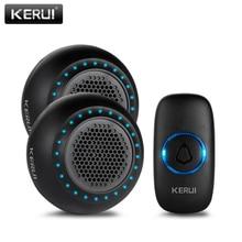 KERUI M523 Wireless Doorbell Kit Waterproof Touch Button 32 Songs Colorful LED l
