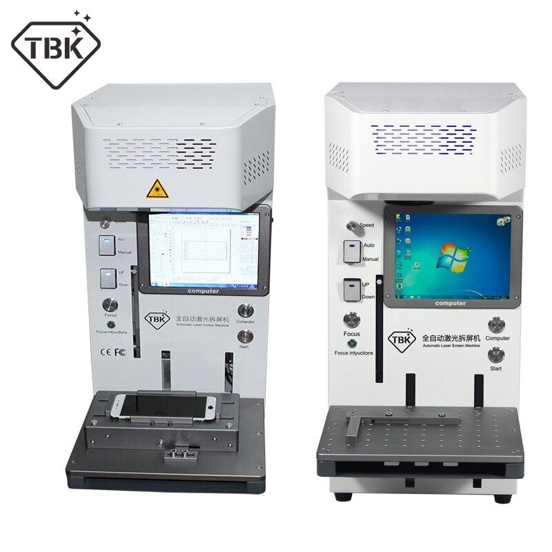 TBK 20W Laser Macchina di Taglio per il iphone 11 XS X Vetro Posteriore di Rimozione LCD Con Cornice di Riparazione del telefono mobile Universale posizionamento apparecchio