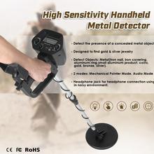 Профессиональный МД-4030 портативный легкий подземный детектор металла регулируемая детекторы золота искатель сокровищ охотник следопыт