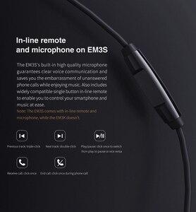 Image 5 - Fiio EM3S/EM3K Dynamische Drives Oortelefoon Met Microfoon Of Zonder Mic 3.5 Mm Plug Voor Huawei/Xiaomi/ iphone Voor Ipod Mp3 Mp4 Etc.