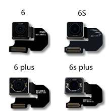 Новая задняя камера для iphone 6 6s 6plus 6splus задняя камера задняя основная линза гибкий кабель запасная часть для iphone6