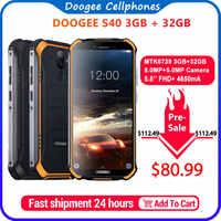 Upgrade 3GB + 32GB DOOGEE S40 MTK6739 Quad Core Android 9.0 4G Netzwerk Robuste Handy IP68 5,5 zoll Display 4650mAh 8.0MP NFC