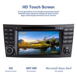 Image 3 - Zltoopai 車のマルチメディアプレーヤーの自動 dvd プレーヤーのためにメルセデスベンツ e クラス W211 E300 clk W209 cls W219 自動ラジオ gps ステレオ 2 din