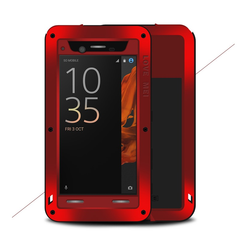 For Sony Xperia XZ Hard Cases LOVE MEI for Sony Xperia XZ Powerful Shockproof Dropproof Dustproof Protection Case - 5.2 inch