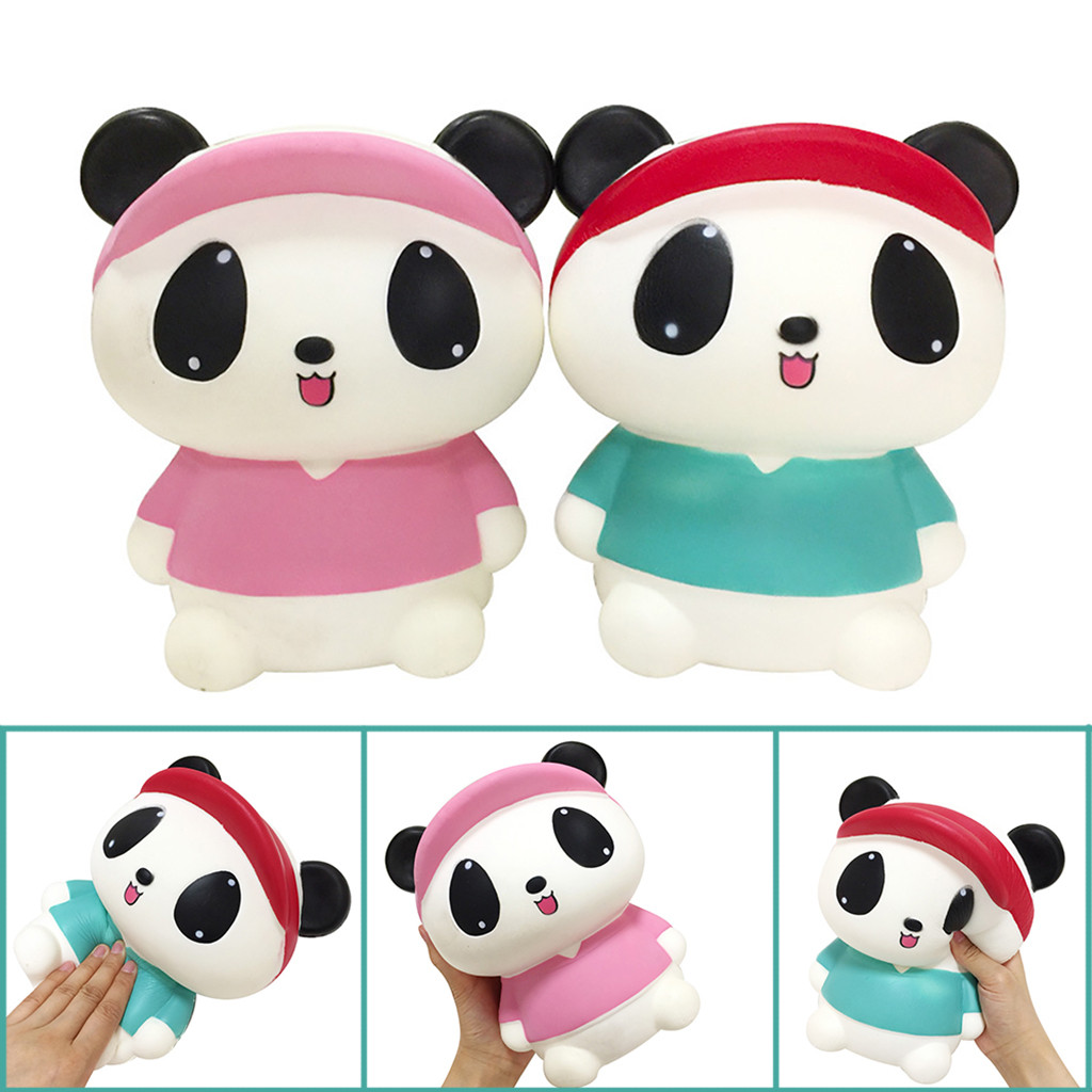 Jumbo Cartoon Panda Scented Slow Rising Toy Children Kids Gift Stress Relief Poopsie Slime Surprise Dropshiping W826