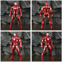 Avengers Civil War Iron Man Mark 43 Action Figure with Lights 6inch 5